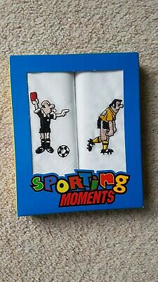 Bn Sporting Moments Mens Football Handkerchiefs