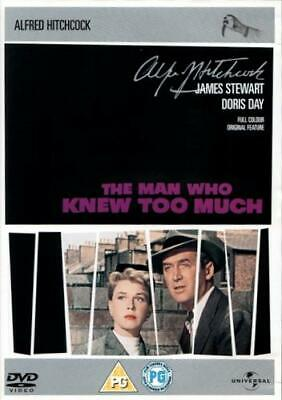 The Man Who Knew Too Much (DVD / James Stewart / Alfred Hitchcock 1955)