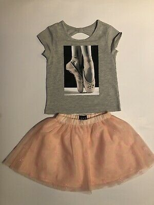 Girls Ballerina and Best Friends Forever TuTu Style Outfit - Aged 6/7+ years