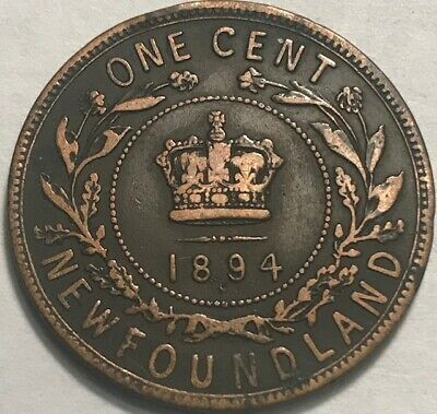 Canada - Queen Victoria - NEWFOUNDLAND - One Cent - 1894 - KM-1