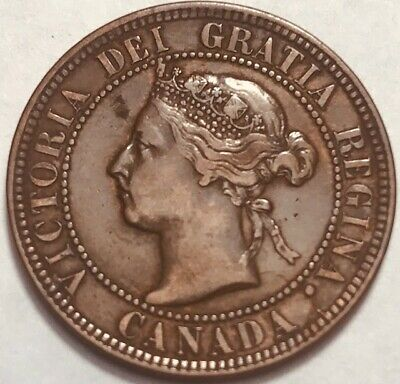 CANADA - Queen Victoria - Large Cent - 1897 - Extra Fine - NICE!
