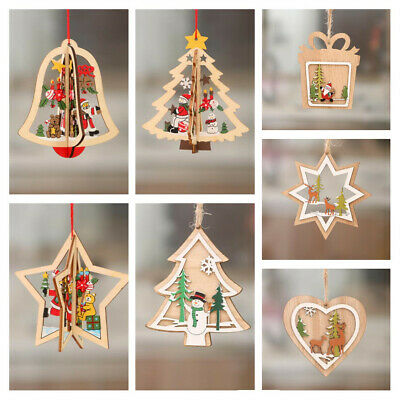10X 3D SHEETS FOR MAKING CARDS RENDEER//CHRISTMAS TREE  SCISSORS NEED 30X21CM NEW
