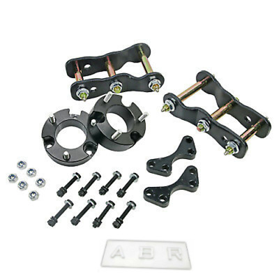 """Front 3"""" Rear 2"""" Lift Kits Strut Spacer Shackle For Isuzu D-Max 4WD TFR TFS 12++"""