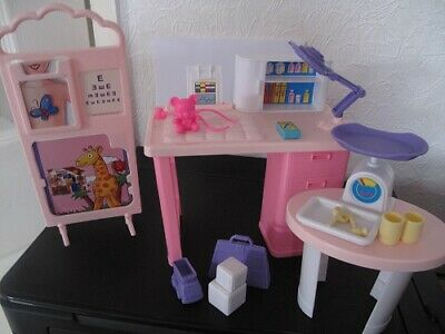 barbie doll care center with lots of items 1994 boxed