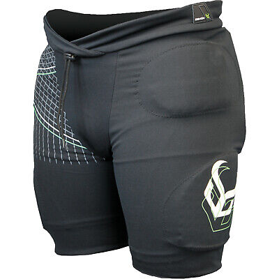 Demon Flexforce Pro Body Armour Protective Shorts - Black All Sizes