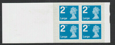GB 2019 4 x 2nd LARGE SBP2i BOOKLET CODE M19L RA4a Variety IRIDESCENT INK SHIFT
