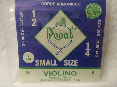 Dogal Violin String Student Quality Single String From Quarter to Full Sizes