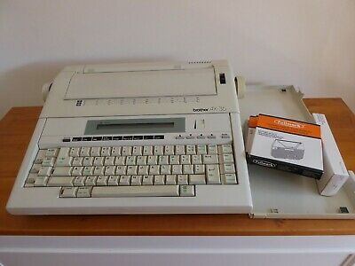 Brother AX-35 Electric Typewriter + Ribbons