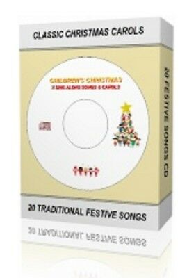 Christmas Xmas Kids Childrens Sing Along Carols 20 Songs On Cd 1St Uk