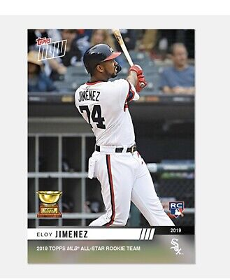 2019 Topps NOW Eloy Jimenez Rookie Cup #RC-6 White Sox PRESELL