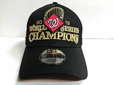 Washington Nationals Cap New Era 39Thirty 2019 World Series Champions Hat MLB