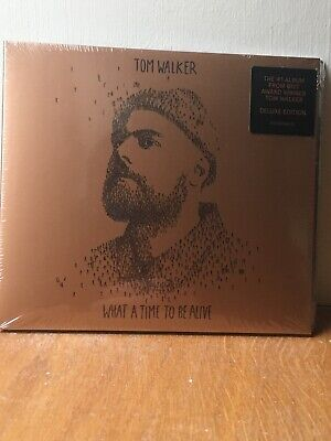 TOM WALKER 'WHAT A TIME TO BE ALIVE' Deluxe Edition CD (Bonus Tracks) (2019)