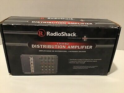 RadioShack 1-In/4-Out Distribution Amplifier