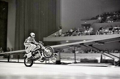 4 1970s TATTOO NEGATIVES SUPER JOE EINHORN MOTORCYCLE DAREDEVIL LYLE TUTTLE Ji10