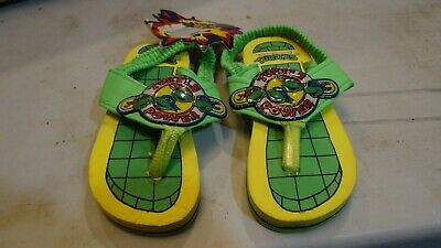 Vintage 1989 TMNT Teenage Mutant Ninja Turtles Kids SZ.6 Sandles RARE FREE SHIP