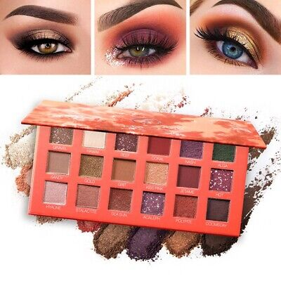 1PC Women Eyeshadow Palette 18 Colors Matte And Shimmer Eye Shadow Professional