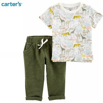 Carters Baby Boys Whale Print Jersey Polo Shirt