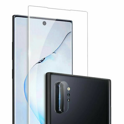 For Samsung Galaxy Note 10 Plus Fingerprint Glass Screen Protector