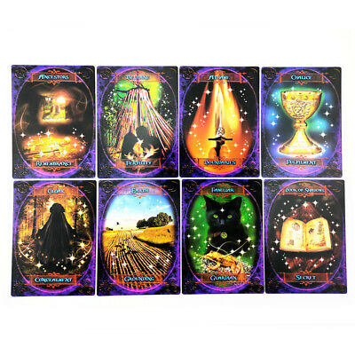47Pcs Jeu société de Oracle tarot Game Jeu cartes witch wisdom oracle card
