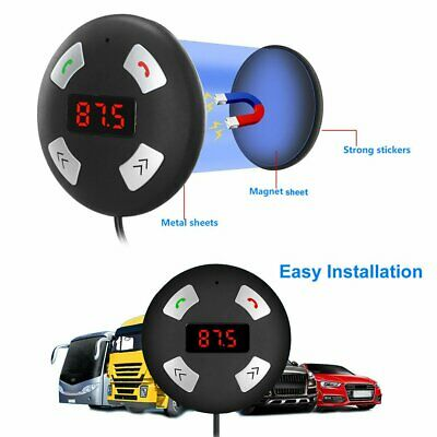 Wireless Bluetooth Handsfree USB MP3 Player Magnet Car Kit FM Transmitter