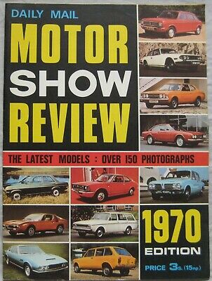 1970 Daily Mail Motor Show Review