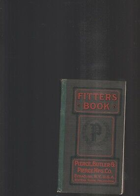 Fitter's Book-Boilers, Radiators, Miscellaneous-1910-From Pierce,Butler Mfg.