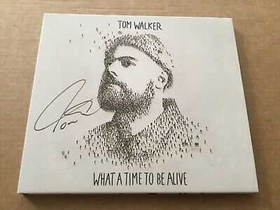 Tom Walker - What A Time To Be Alive - Signed Digipak Cd