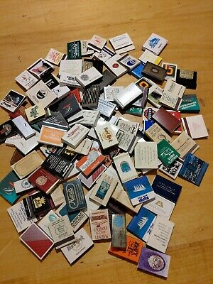 Collection Of Vintage Match Books~Boxes~120 Pieces