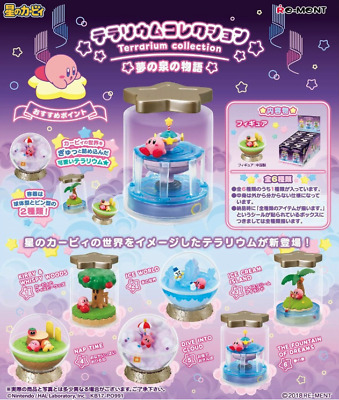 Kirby Terrarium Collection Complete set All 6 type JAPAN import F/S NEW Re-ment