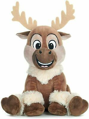 """Official Disney Frozen 2 Sven Reindeer Soft Toy Plush Teddy 12"""" New With Tags"""