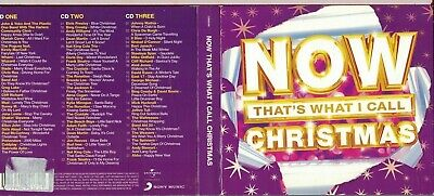 NOW THAT'S WHAT I CALL CHRISTMAS(2015) 3 x CD 5099940941721