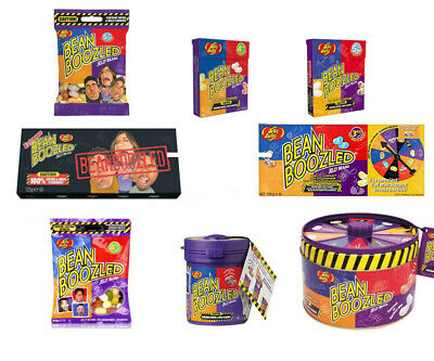Bean Boozled Jelly Belly Beans 4th 5th Edition Sweets Spinner Top Up Bag Box