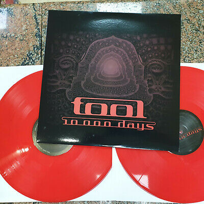 Tool ‎– 10,000 Days ' LP MINT   RED LIMITED