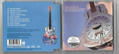 Dire Straits Brothers in Arms CD SACD 5.1 Surround Sound 20th Anniversary