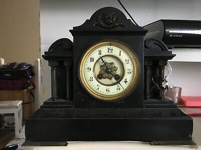 marble french antique clocks