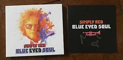 Simply Red Blue Eyed Soul Cd Brand New And Signed