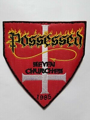 Possessed Seven Churches Embroidered Patch