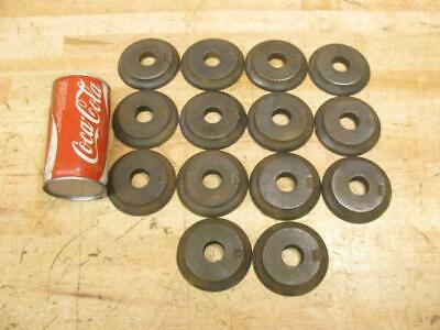 Antique 1917 Water Mill Cast Iron Architectural Salvage Stress Washers Hardware