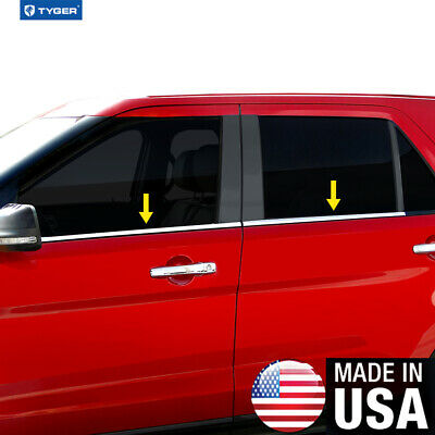 Stainless Steel Window Sill Trims 4PC Fits Mercedes-Benz ML320 ML350 ML500 06-11