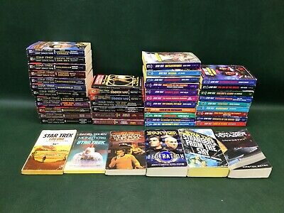 Lot of 45 Star Trek Deep Space Nine Series & Others Books Paperbacks