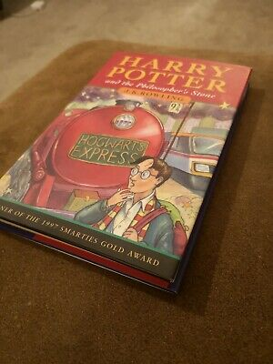 Harry Potter And The Philosopher's Stone J K Rowling First Edition H/B book 5th