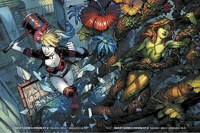 Harley Quinn & Poison Ivy #3 Card Stock Connecting David Finch Variant Set Of 2
