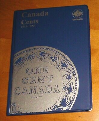 1859-1920 Canada LARGE CENTS Coins Collection – 41 Canadian Pennies
