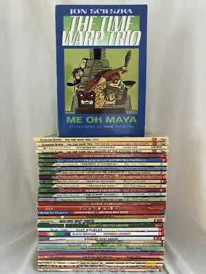 Lot of 36 CHAPTER BOOKS  Boys Interests  gr 1-3 Accelerated Reader MAGIC TREE++
