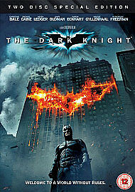 The Dark Knight (Two Disc Special Edition) [DVD] [2008], Acceptable, DVD, FREE &