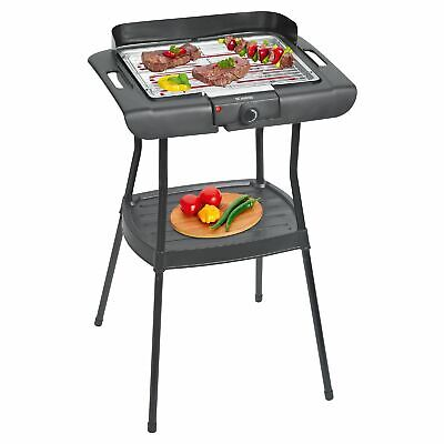 Luxe 2in1 Barbecue Électrique 2000 W Gril Stand de Table Rouille 48624769