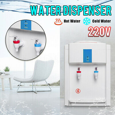 220V Water Cooler Dispenser Filter Purifier Hot Cold Ice Water Taste Floor Stand