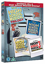 High School Musical 1-3 [DVD], New, DVD, FREE & FAST Delivery