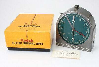 KODAK ELECTRIC INTERVAL TIMER, BOXED, DEFECTIVE, FOR DISPLAY ONLY/cks/194534
