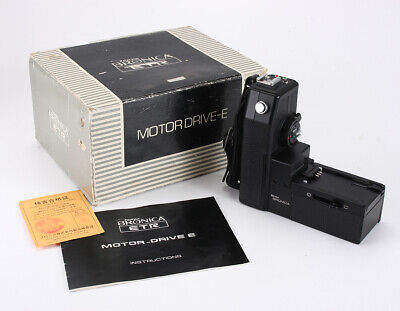 Bronica Motor Drive E For Etr Or Etr-C, Boxed, Not Fully Tested/210622
